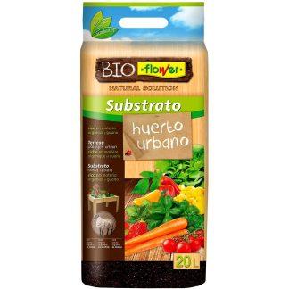 Sustrato para huerto urbano BIOFLOWER para hortalizas