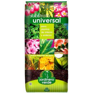 Sustrato universal jardinero verde para plantas y flores de jardín y tiesto, jardinería