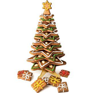 Soporte árbol de navidad comestible de repostería TESCOMA