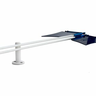 Soporte de clip para el espantapájaros StopGull AIR para embarcaciones y barcos
