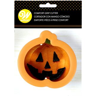 Cortador de galletas Halloween con forma de calabaza para repostería