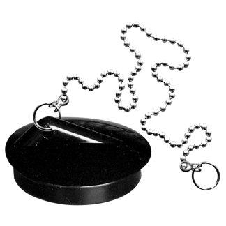 Tapón de goma especial para fregadero Plastisan, fontanería