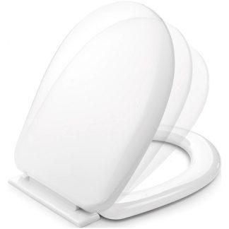Tapa WC Plastisan Suna amb termoplast i sistema softclose per renovar el teu bany