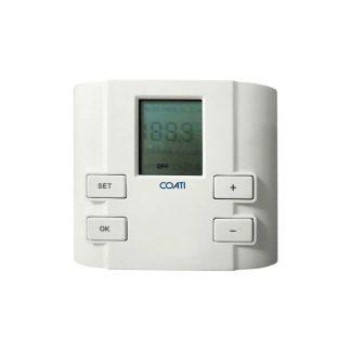 Termostato programable compacto para sistemas de calefacción