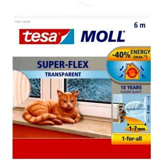 Silicona tubular adhesiva Tesamoll