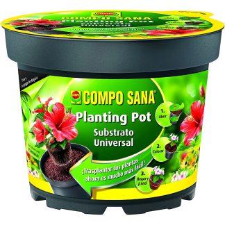 Planting tiesto para plantar plantas y flores fácilmente COMPO