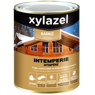 Vernís intempèrie XYLAZEL per a fusta d'exterior