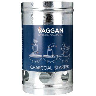 Chimenea de encendido para barbacoa de carbón VAGGAN